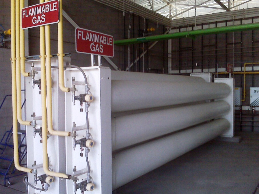 Compressed Natural Gas (CNG) Fuel Storage Cylinders