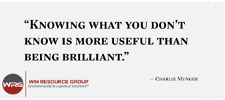 WIH Resource Group - Charlie Munger